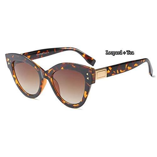 GFF 45568 Cat Eye Sonnenbrille Frauen Vintage Niet Rahmen Runde Marke Brille Designer Mode Männlich Weiblich