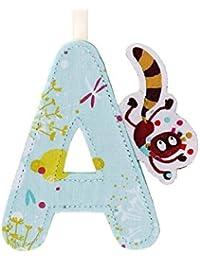 Lettre de l'alphabet décorative A - Lilliputiens