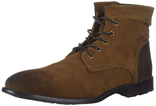 Kenneth Cole REACTION Herren Zenith Boot Tabak-Braun 47 EU M - Lace-up Ankle High Sandal