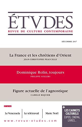 Etudes : La France et les Chrétiens d'Orient: Décembre 2017