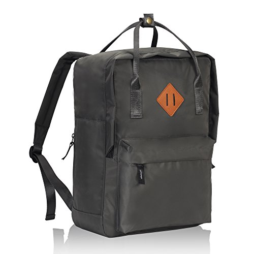 Imagen de veevan unisex grandes bolsas de escuela   para laptop para niñas adolescentes chicas gris oscuro alternativa