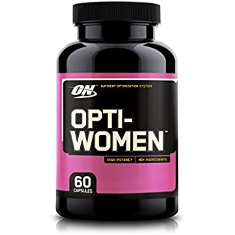 Optimum nutrition opti-women, 60 caps - multivitaminico para la mujer