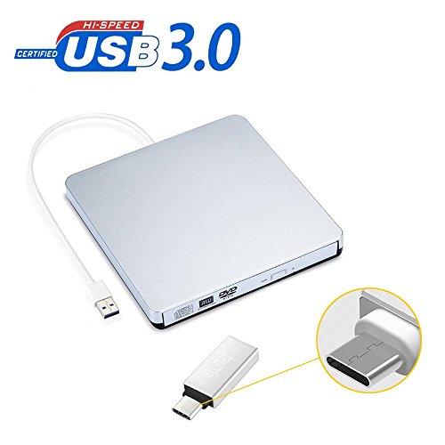 Grabadora DVD / CD externa , Unidad USB 3.0 Ultra Slim Optica Externa