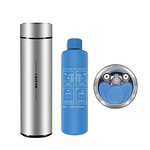 Dison Care Insulin-Kühler-Tasche Tragbare Insulin-Tasche Travel Keep Chilled Meds bei 2-8 Grad, Medical Insulin Travel Case Silver
