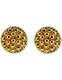 Womens Trendz Handmade Jewellery Traditional 24K Gold Plated Alloy Earrings For Women And Girls