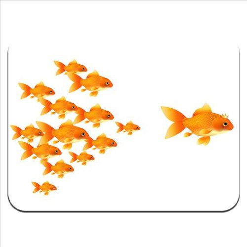 queen-goldfish-followed-by-her-kids-premium-quality-thick-rubber-mouse-mat-pad-soft-comfort-feel-fin