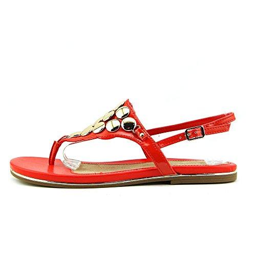 Bella Vita Skylar II da donna sandali Persimmon Patent