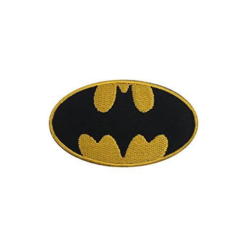 New BATMAN LOGO bestickt Patch Eisen auf oder Nähen auf