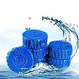 Die besten Automatische WC-Reiniger - SELLIFY 4pcs automatische WC-Reiniger Blue Bubbles Deodorant Sauber Bewertungen