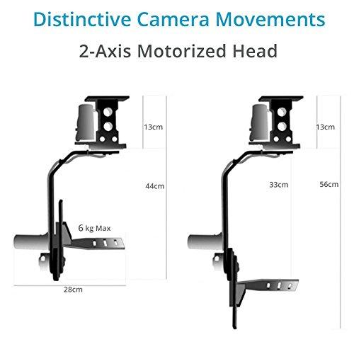 Best Proaim™ Professional Motorized Jr. Pan Tilt Head with 12V Joystick Control For DSLR Video Cameras Camcorders up to 6kg/13.2lb For Jib Crane Tripod + Carrying Bag (PT-JR) Review