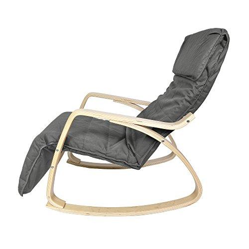 Harima-Sedia-a-dondolo-modello-Colmar-reclinabile-con-rivestimento-lavabile-in-cotone-e-poggiapiedi-regolabile-integrato-colore-grigio