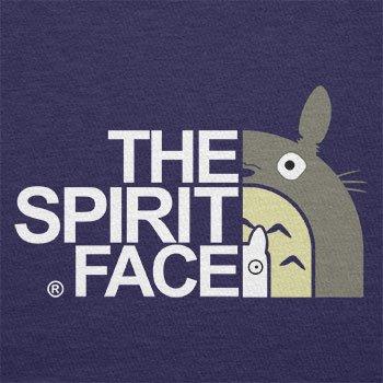 TEXLAB - The Spirit Face - Herren T-Shirt Navy