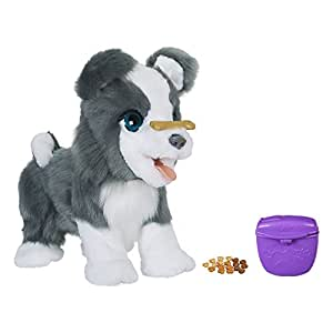 Fur Real Friends Ricky, the Trick Lovin Interactive Plush Pet Toy, 100+ Sound and Motion Combinations, Ages 4 and Up