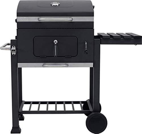Tepro Toronto - Barbecue a Carbone, Antracite/Acciaio Inox