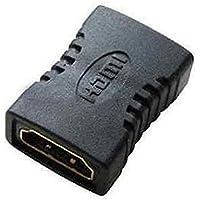 CABLEPELADO - Empalme HDMI Hembra Negro