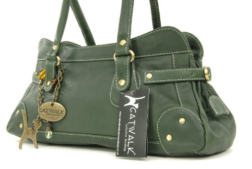 Borsa in pelle con manico corto di Catwalk Collection