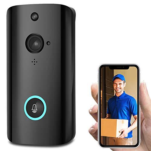 CA&jun Video Türklingel Smart WiFi Intercom Low Power Überwachung Türklingel Intelligent Voice Intercom Wireless Türklingel