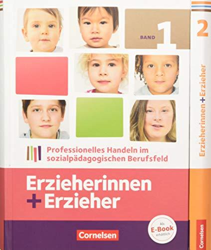 Erzieherinnen + Erzieher - Aktuelle Ausgabe: Zu allen Bänden - Fachbücher im Paket: 450179-9 und 450181-2 im Paket