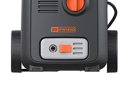 Black+Decker BXPW1400E High Pressure Washer (1400 W, 110 bar, 390 l/h)