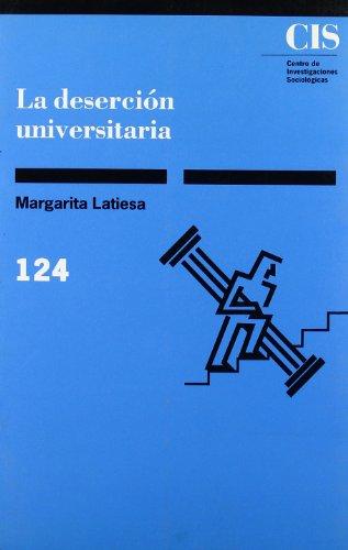La deserción universitaria (Monografías)