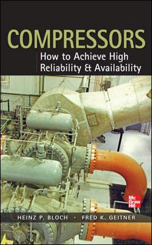 Compressors: How to Achieve High Reliability & Availability di Heinz P. Bloch,Fred K. Geitner