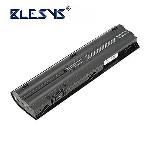 BLESYS - HP 3115m, Mini 110-3800, Mini 210-3000, Batterie pour ordinateur portable de la série DM1-4000 Remplacement pour 646656-421, 646657-241, 646657-251, 646657-421, 646755-001, 646757-001, A2Q96AA, HSTNN -DB3B, HSTNN-LB3A, HSTNN-YB3A, HSTNN-YB3B, LV953AA, MT03, MT06, MTO3, MTO6, TPN-Q101,