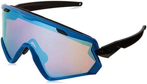 Oakley Herren Wind Jacket OO7072 Sonnenbrille, Blau (Azul), 0