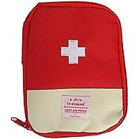 Outdoor Camping Home Survival Tragbare Mini Verbandskasten Tasche Pille Tablet Tasche (Rot) preisvergleich bei billige-tabletten.eu