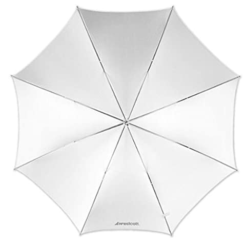 Westcott 43-inch Optical Satin Collapsible - White