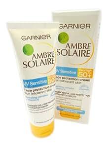 Garnier Ambre Solaire UV Sensitive Face Protection Cream SPF50+