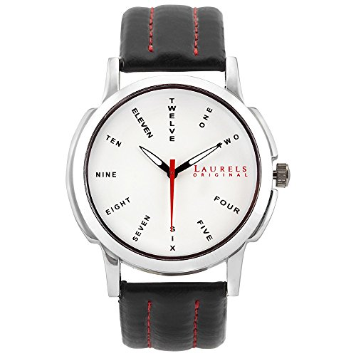 Laurels Maestro 2 Analog Silver Dial Men's Watch ( Lo-Mas-201)  available at amazon for Rs.429