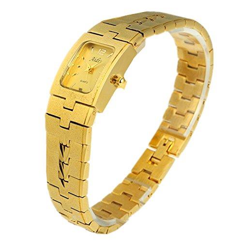 Calendario delle coppie d'oro classico orologio orologio orologi oro scrub maschile e femminile , women - Womens Diamante Orologio Automatico