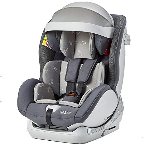 Siège Auto Cocoon II ISOFIX Groupe 1,2,3 : 9-36 kg - (SPS) + Toptether (gris)