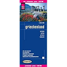Reise Know-How Landkarte Griechenland (1:650.000): world mapping project