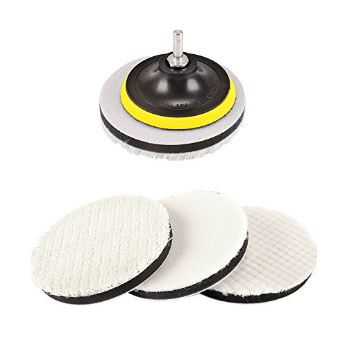 Tools 16pcs 2 50mm Buffing Polishing Pad Set Flat Sanding Sponge With 3mm Shank Hook And Loop Backing Plate For Dremel Car Waxing Regular Tea Drinking Improves Your Health