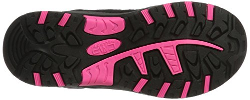 CMP Rigel, Chaussures de Randonnée Hautes Mixte Enfant Rose (Pink Fluo-asphalt)