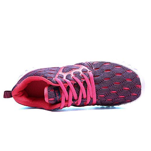 Sportschuhe Das neue Laufschuhe Rutschfest Atmungsaktiv Mode Freizeit Reiseschuhe female purple