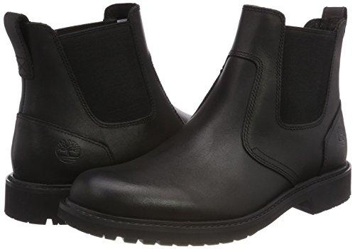 Timberland Men    s Stormbucks Pull-on Chelsea Boots   Black Smooth 001   6 UK