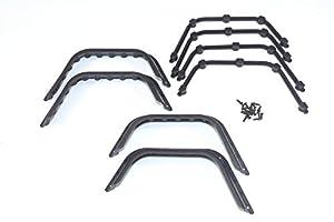 Absima 23200502320050Juego Crawler Guardabarros verbreiterungs (4Unidades)-Diseño de Modelo de Coche gestaltung Tool/Tuning Notebook en Escala 1: 10, Multicolor