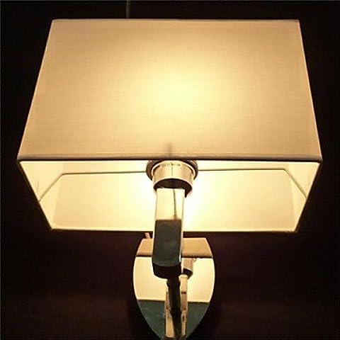 Industriale moderna parete in ottone applique Lampada parete retrò luce Vintage rustico luce da parete a forma di cono a base di ferro per carattere, American parete quadrata , panno 220-240V