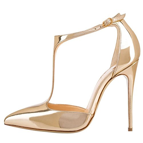 EKS, Scarpe col tacco donna Gold