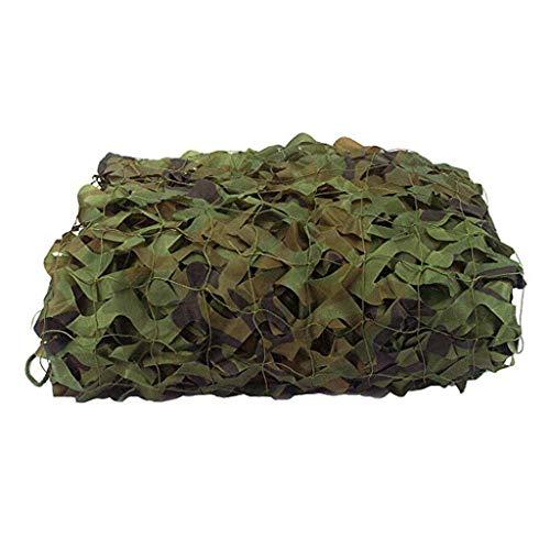 LIYIN-Voiles d'ombrage 80% Triangle Camouflage Net UV-Block Sonnenschutz Sail Canopy Shade Net für den Außenbereich Rasen Garten Graphit Woodland Camo Netting Camo Cover Armee Camo Net