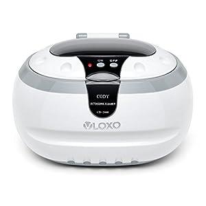 Ultraschallreinigungsgerät Ultraschallreiniger Ultraschallgerät 600ml – VLOXO für Brille Uhren Schmuck Ohrringe Ringe Halsketten Rasierer Zahnprothesen Tattoo Werkzeuge MEHRWEG