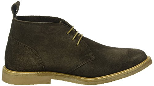 Kickers Da Donna Tyl Derby Brown (9)