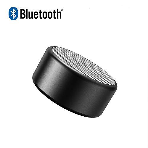 Bluetooth Lautsprecher tragbar True Wireless Stereo(TWS) Mini mobiler Bluetooth Speaker mit 7Stunden Spielzeit,10 Meter Bluetooth Reichweite mit Bass (1 Pack, Schwarz)