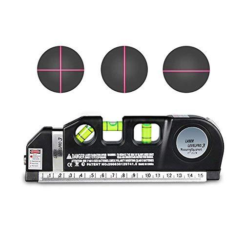 Multiuso livello laser, livello righello pavimenti Level aligner orizzontale verticale misura standard metrico righello nastro righello