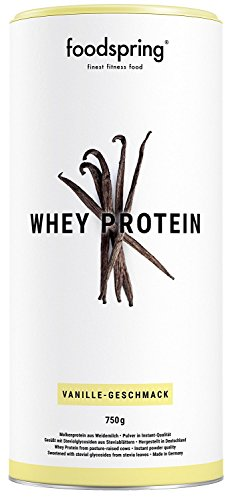 Image of foodspring Whey Protein Pulver, Vanille, 1x750g