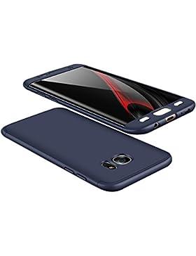 Qissy®3 in 1 copertura completa 360 Case Integral Custodia Ultra Fine e discreto per Samsung Galaxy S7 Edge
