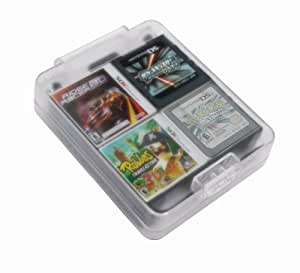 ORB 16 Game Card Case Holder with SD Slots (Nintendo 3DS/DSi XL/DSi/DS Lite)