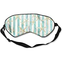 Starfish Watercolor Stripe Art Sleep Eyes Masks - Comfortable Sleeping Mask Eye Cover For Travelling Night Noon... preisvergleich bei billige-tabletten.eu